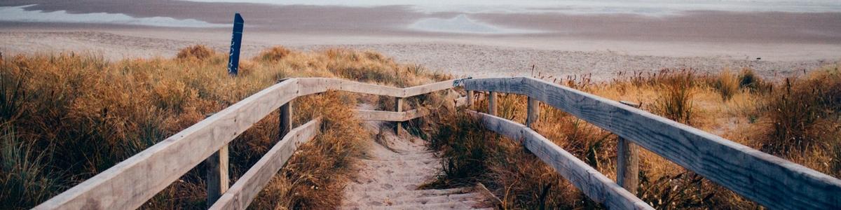 strand opgang 1200 x 300